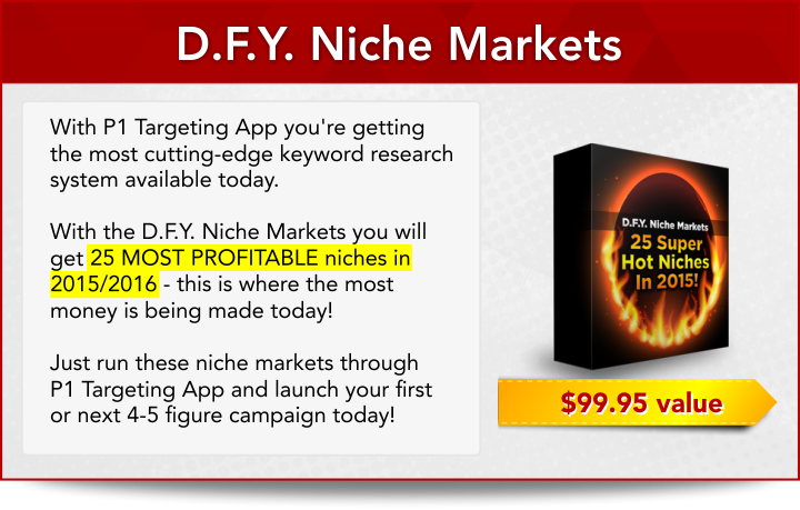 P1 Targeting App Bonus