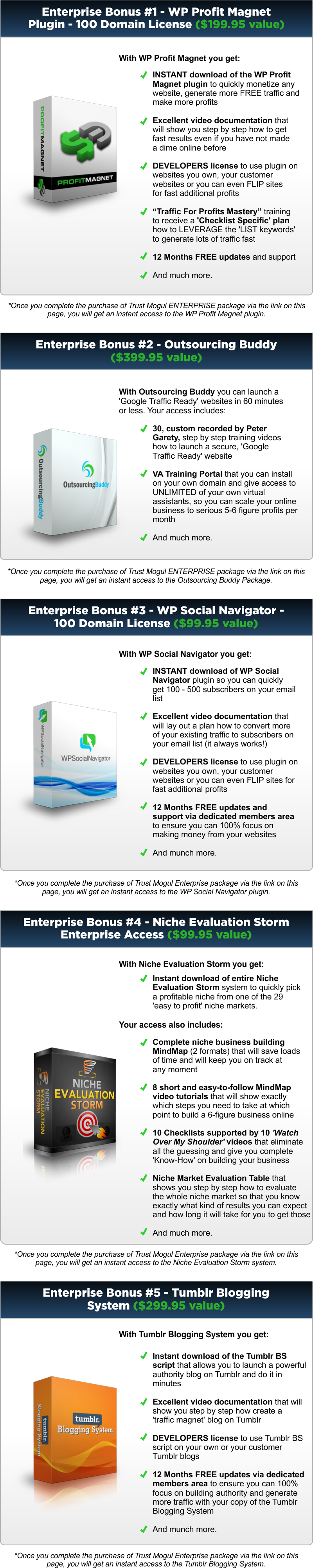 Trust Mogul Enterprise Bonus